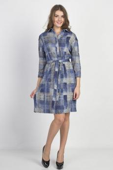 Платье-рубашка с поясом Bast